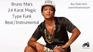 24K Magic Bruno Mars Type Funk Beat/Instrumental