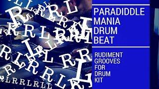 Paradiddle Mania | Very Funky Rudiment drum beat