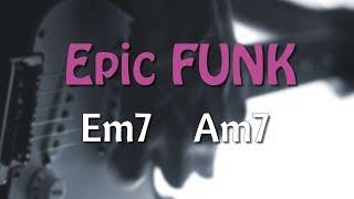 E Minor Epic Funky Groove Backing Track 120 Bpm