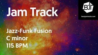 Jazz-Funk Fusion Jam Track in C minor 115 BPM