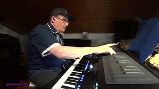 Sunny Funky - Played Live on a Yamaha Genos and a Roli Seaboard