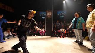 VOVAN & FUNKY J vs Animal Funk(JUN KEITA) BEST8 LOCK WDC 2017 FINAL WORLD DANCE COLOSSEUM Day1
