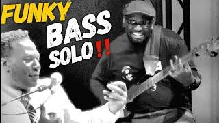 EXTREME Funky Bass Solo with Robert Randolph - Daric Bennett