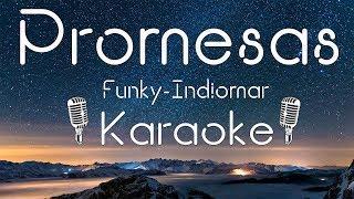 Promesas - Funky feat. Indiomar (Karaoke Oficial) Audio Masterizado