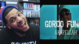 Akapellah - Gordo Funky (Official Video) - Gordo Funky Official Video Reaccion