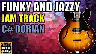 Funky and Jazzy Guitar Backing Track Jam in C# Dorian