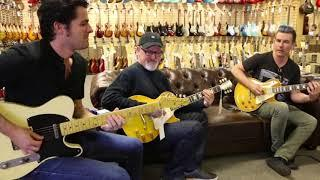 Funky Trio: Tim Pierce, Pete Thorn & Mark Lettieri at Norman's Rare Guitars