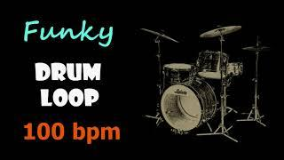 Funky Drum Loop 100 bpm