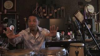 Playing funk on congas; funky fills