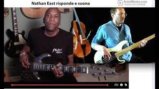 Risposta Nathan East su ArtistWork.com ad invio Video Exchange Funky in E minor