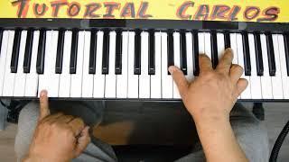 Murallas  Funky, Josh Morales y Coalo Zamorano  Piano Tutorial Carlos