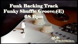 Funky Shuffle Groove Jam Tracks (E) 68 Bpm