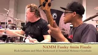 Rick Latham Live at NAMM 2018 a funky finale