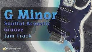 Soulful Acoustic Funky Groove Backing (G Minor)