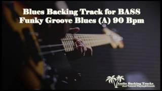 Funky Groove Blues (A) 90 Bpm for BASS (NO BASS)