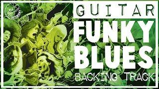Funky Blues Backing Track in A