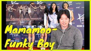 Mamamoo - Funky Boy live fancam