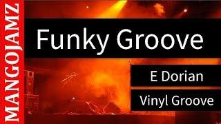 Funky Groove Backing Track  - Vinyl Groove
