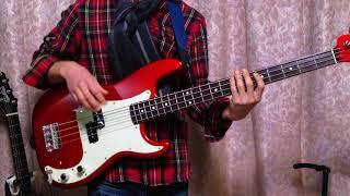 Wild Cherry - Play That Funky Music (Bass Cover)