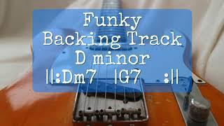 Funky backing track Stevie Wonder Style Dm Vamp  ||:Dm7  |A7  :||