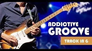 Addictive Bluesy/Funky Groove - Guitar Backing Track in G