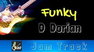 Funky D Dorian Groove Jam // Backing Track