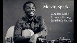 Melvin Sparks Lesson | 4 Badass Licks from an Unsung Jazz-Funk Master