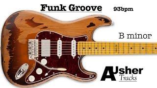 Funky Struttin' Groove in B minor | Guitar Backing Track