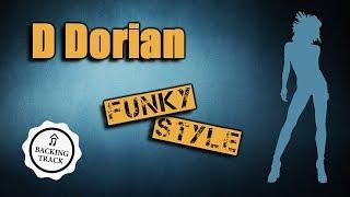 Funky Backing Track in D Dorian