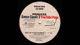 Princess - Say I'm Your Number 1 (The Funky Sisters H.R.H.  Mix N° 3)