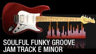 Soulful Funky Groove Backing Track in E Minor (Jazz Club)