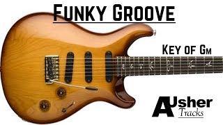 Funky Groove | Guitar Jam Track in G minor