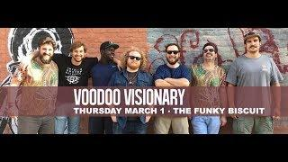 "Voodoo Visionary ""Ain't It Funky Now"" The Funky Biscuit, 3-1-2018"