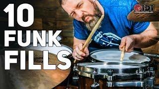 10 EASY Beginner Funk Drum Fills | Stephen Taylor Drum Lesson
