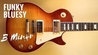 Funky & Bluesy | Guitar Backing Track Jam in Bm