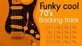 70's cool groove & funky guitar backing track