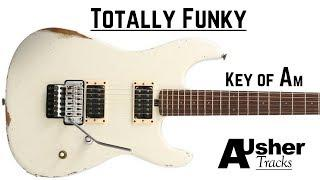 Totally Funky Groove | A minor Guitar Backing Track