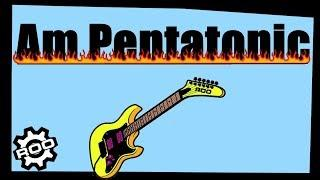 Backing Track Funky Am Pentatonic Practice