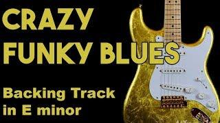 Crazy Funky Blues Backing Track in Em SZBT 7