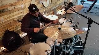 Malas Noticias - Su Presencia ft. Funky Drum Cover by Juan Sebastian Cuentas
