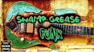 Swamp Grease Funk Backing Track in D Mixolydian Blues