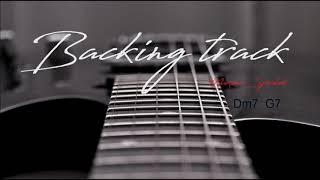 SMOOTH FUNKY GROOVE BACKING TRACK Dm7 G7