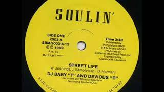 "DJ Baby ""T"" And Devious ""D"" - The Beat Is Funky (1989)"