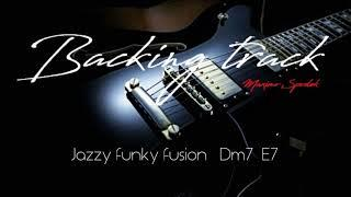 BACKING TRACK, JAZZY FUNKY FUSION Dm7 E7