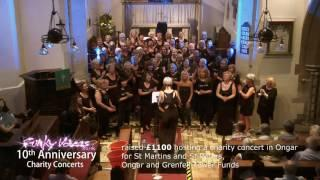 Funky Voices 10th Anniversary charity concerts - 5 concerts for local charities and causes