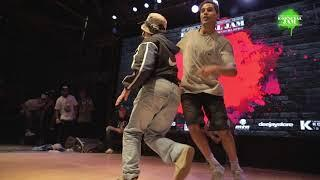 FUNKY SAIYANS vs TRANKILOS Final Breaking E-sencial Jam 2017