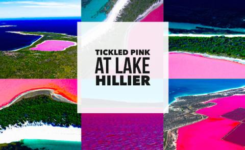 Bubblegum Pink Lake Hillier - amazing!