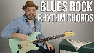 Funky Blues Rock Rhythm Guitar Lesson - Chords For Tasty Grooves