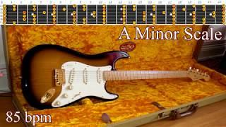 Funky Bluesy Reggae Backing Track Guitar Jam - A Minor Scale | 85 bpm [NCTracks Release]