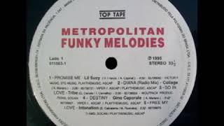SEQUENCIA DE FAIXAS DO LP (METROPOLITAN FUNKY MELODIES)